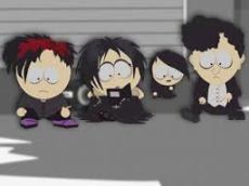 Goth kids as depicted by Trey Parker and Matt Stone, creators of South Park.